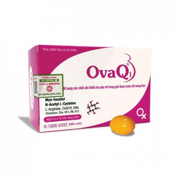 Viên Uống OvaQ1 Hỗ Trợ Tăng Khả Năng Thụ Thai