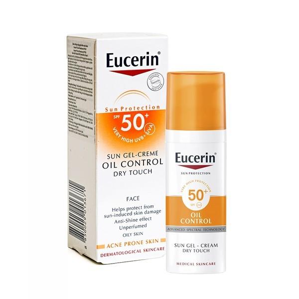Kem Chống Nắng Kiểm Soát Nhờn Eucerin Oil Control SPF 50+