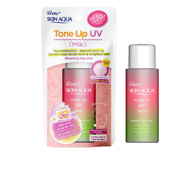 Sữa Chống Nắng Nâng Tông Da Dầu Sunplay Skin Aqua Tone Up Aura