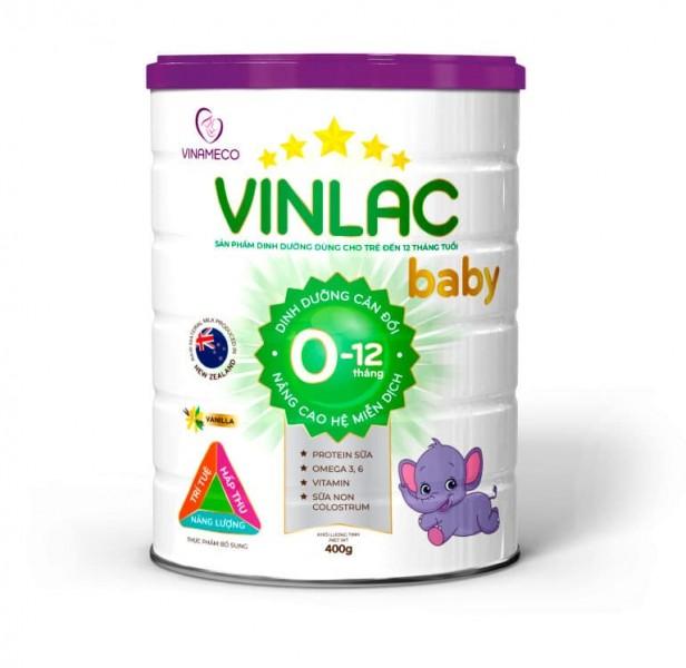 Sữa Bột Vinlac Baby Cho Bé Từ 0-12 Tháng