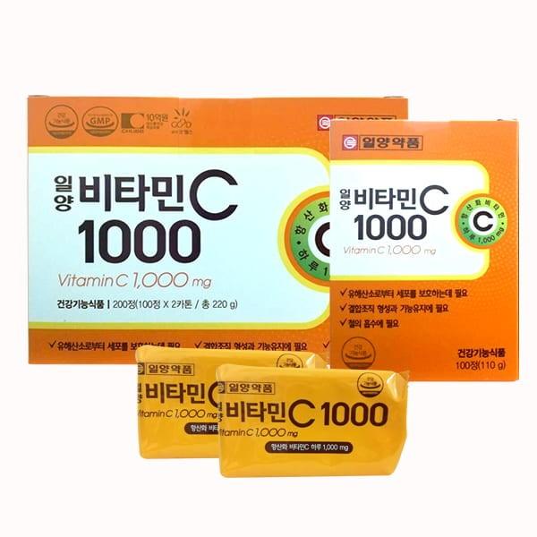 Viên Uống Bổ Sung Vitamin C 1000mg Của Hàn Quốc