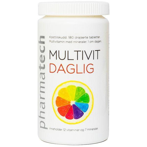 Viên Uống Bổ Sung Vitamin Multivit Daglig Pharmatech 180 Viên