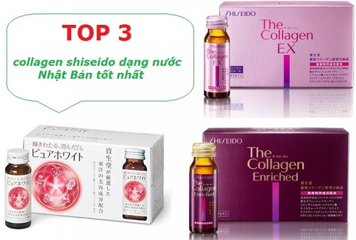 Collagen Shiseido Dạng Nước Review Có Tốt Không Từ Chuyên Gia