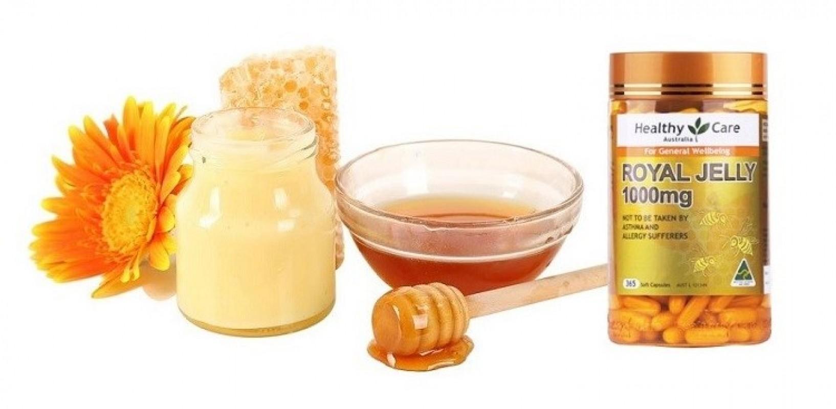 Sữa Ong Chúa Healthy Care Royal Jelly 1000mg Review Có Tốt Không