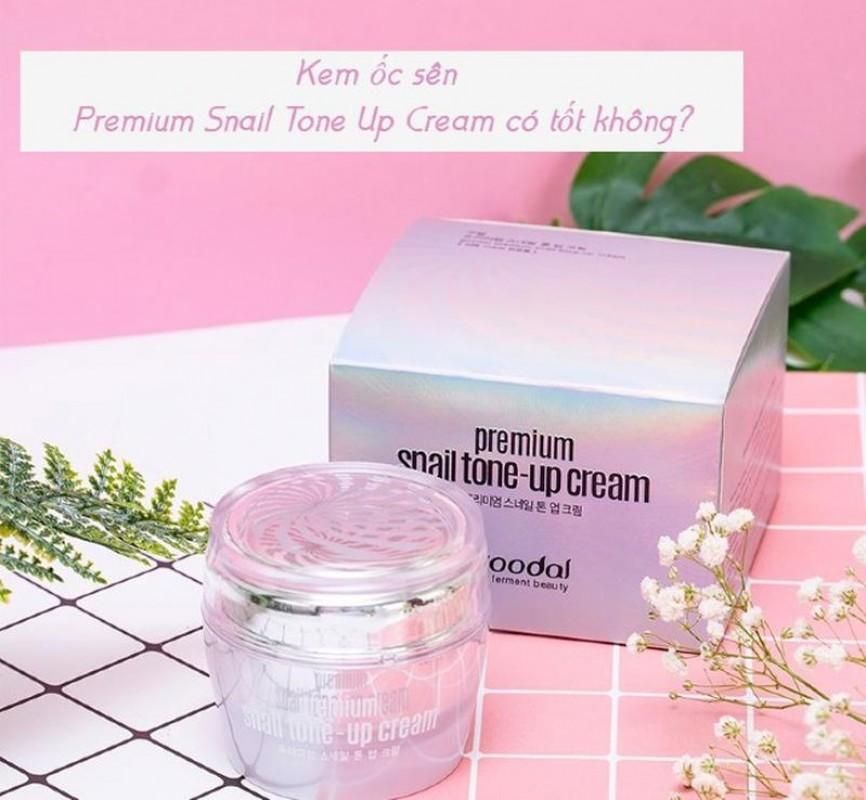 Kem Premium Snail Tone Up Cream Có Tốt Không