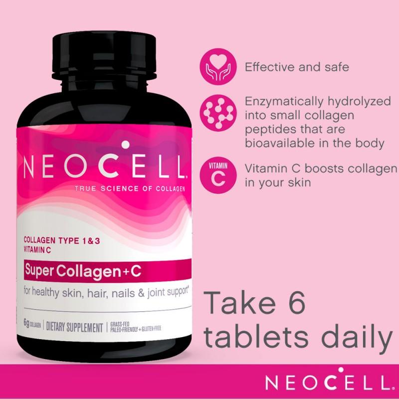 Review Collagen Neocell Super Collagen + C Có Tốt Không?
