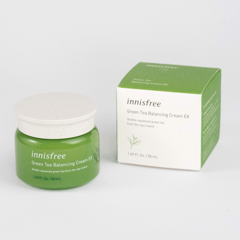 Review Kem Dưỡng Innisfree Green Tea Balancing Cream EX