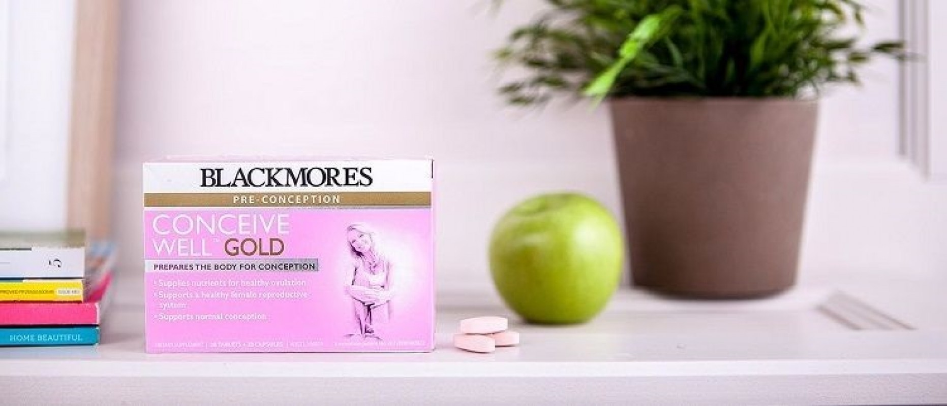 Review Thuốc Blackmores Conceive Well Gold