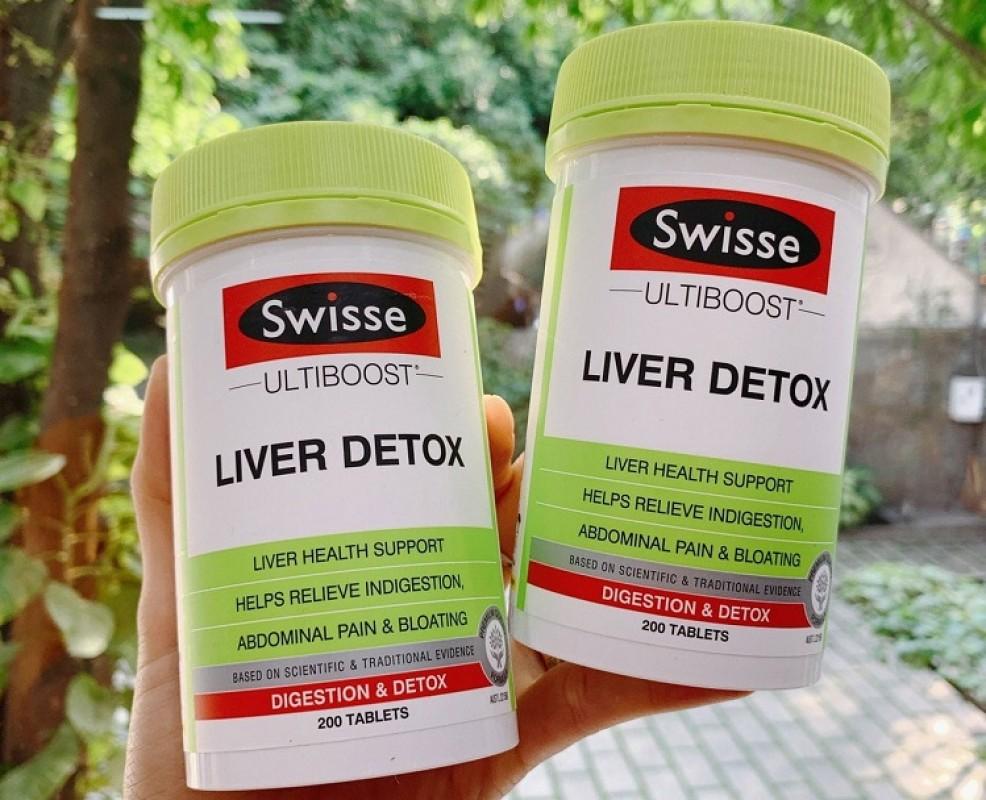 Thuốc Liver Detox Có Tốt Không, Giá Bao Nhiêu