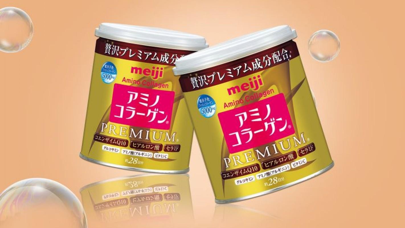 Amino Collagen Meiji Premium Review Có Tốt Không, Thành Phần, Công Dụng