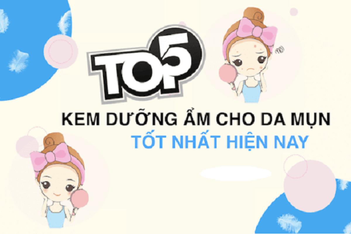 Top 5 Kem Dưỡng Ẩm Cho Da Dầu Giá Bình Dân