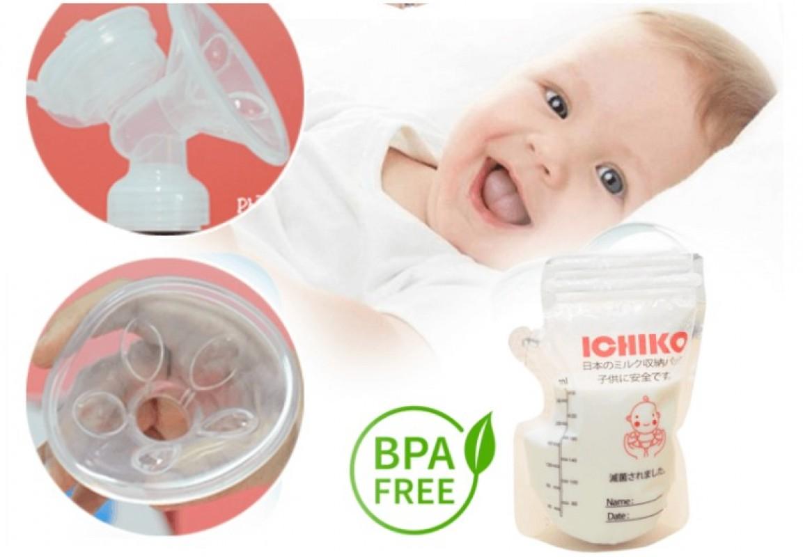 Tổng Hợp Đánh Giá Review Máy Hút Sữa Ichiko Webtretho