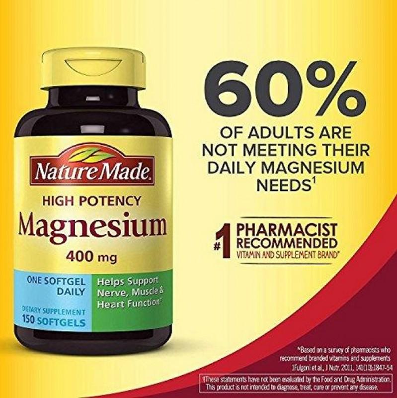 Review Viên Uống Nature Made Magnesium 400 Mg Có Tốt Không?