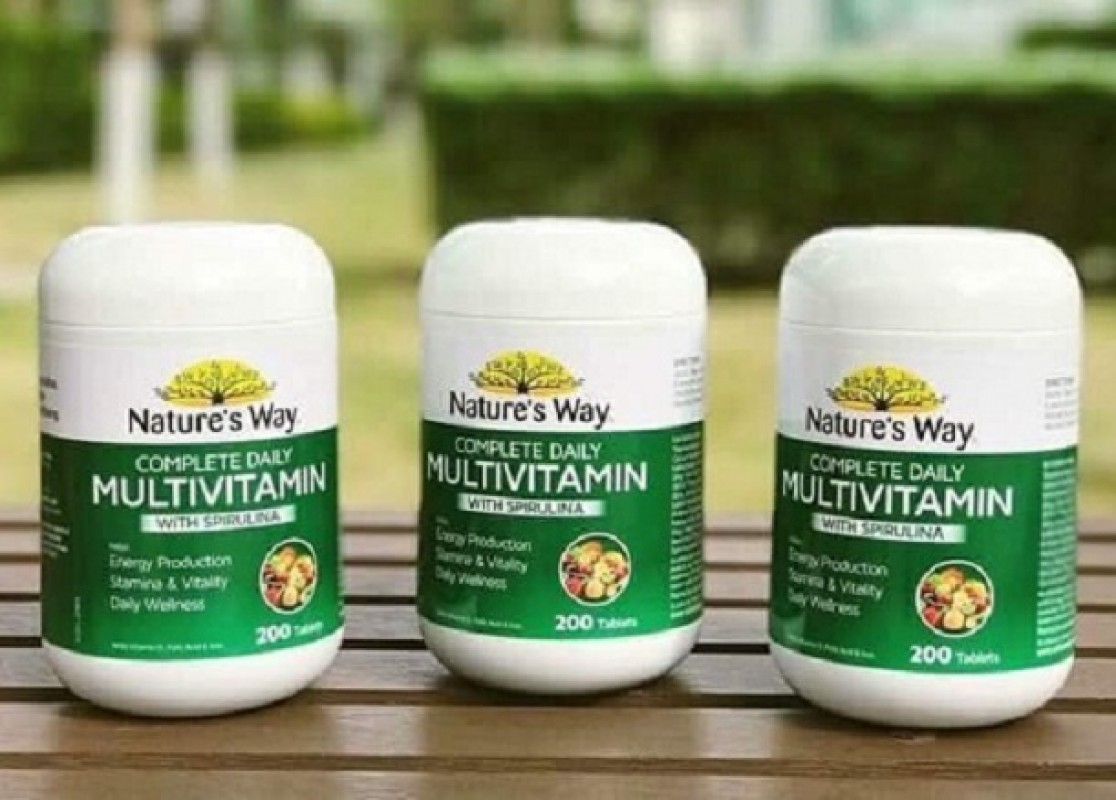 Review Vitamin Tổng Hợp Nature Way Multivitamin: Thành Phần, Công Dụng