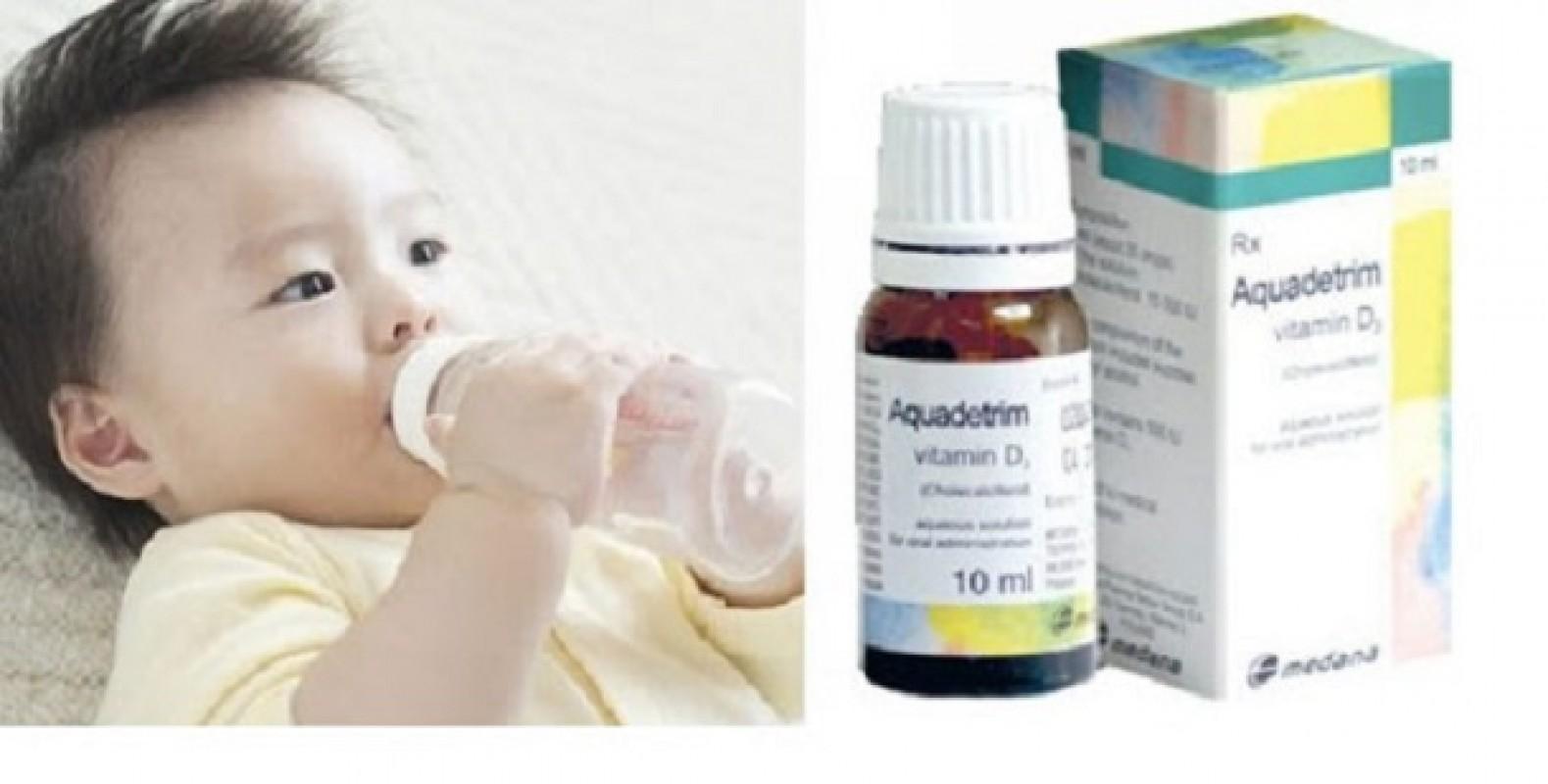 Tại Sao Vitamin D3 Aquadetrim Gây Biếng Ăn Ở Trẻ Sơ Sinh?