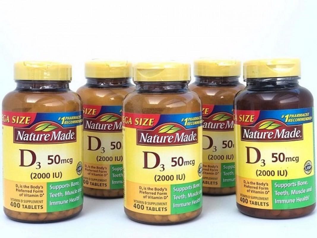 Viên Uống Bổ Sung Vitamin D3 Nature Made Có Tốt Không?