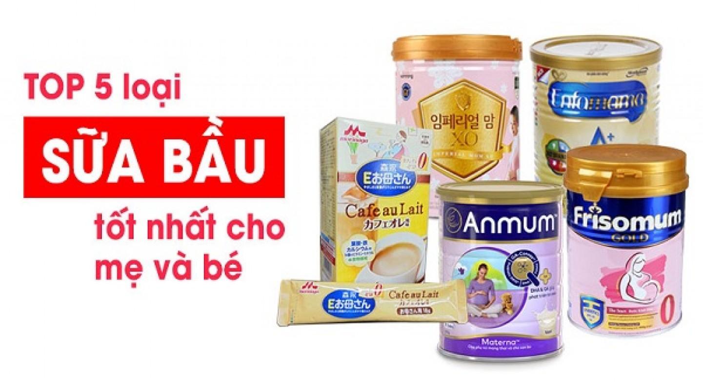 [Review] Top 5 Loại Sữa Bầu Tốt Nhất Hiện Nay, Vào Con Không Vào Mẹ