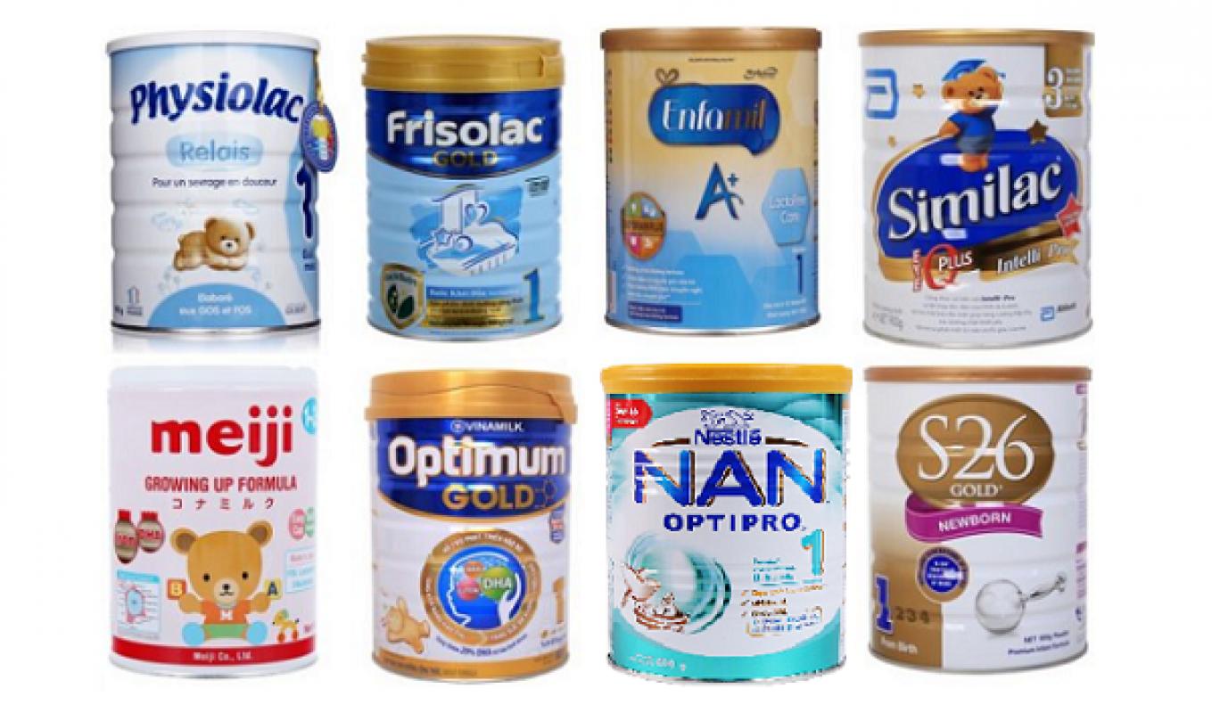 [Review] Top 5 Loại Sữa Tốt Nhất Cho Trẻ Sơ Sinh Từ 0-6 Tháng Tuổi