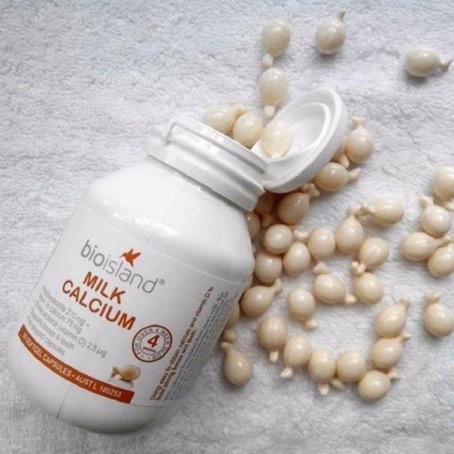 Sữa Canxi Cho Bé Milk Calcium Bio Island Của Úc