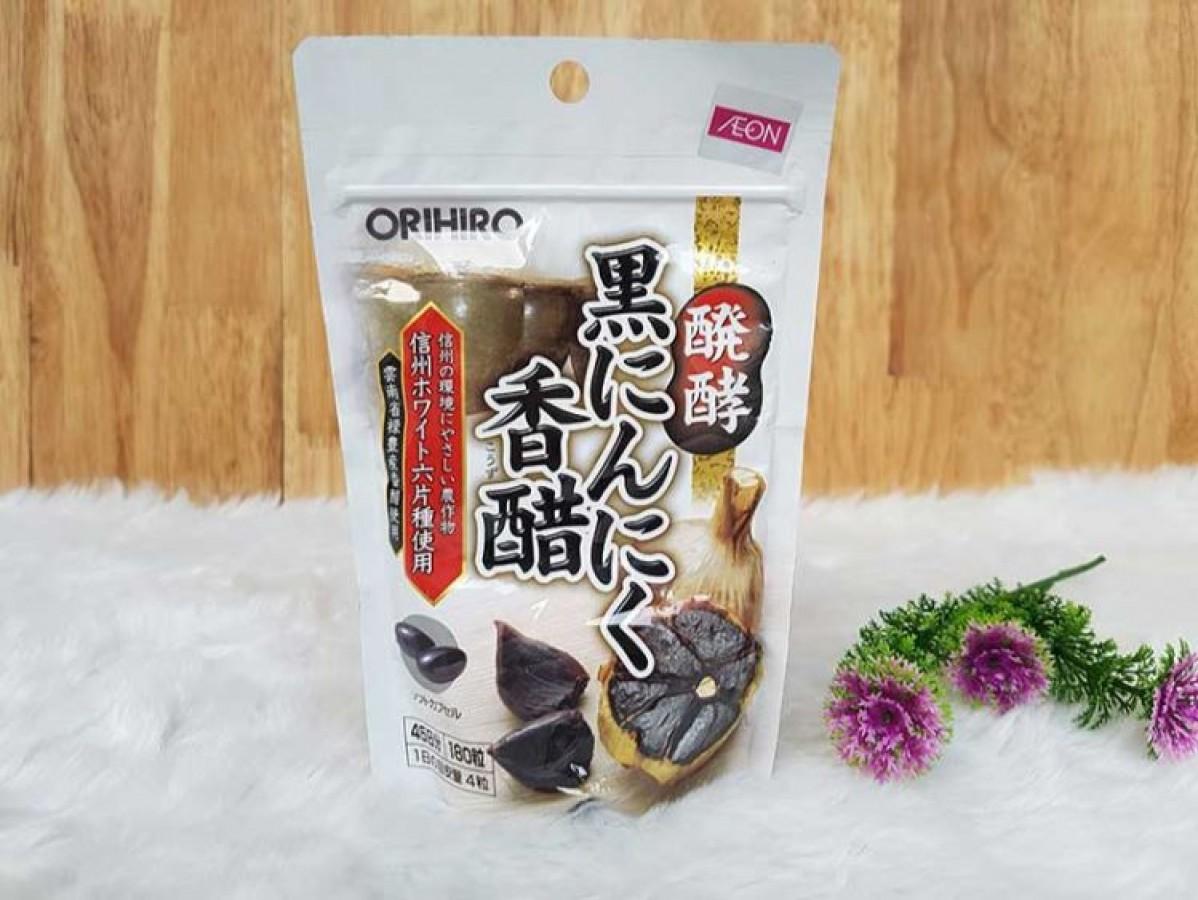 Tỏi Đen Orihiro Nhật Bản Chính Hãng 180 Viên