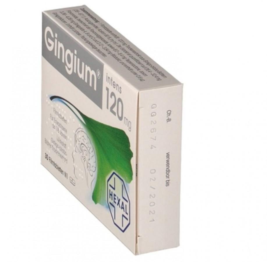 Gingium 120mg - Viên Uống Bổ Não Tăng Cường Trí Nhớ Của ĐỨC
