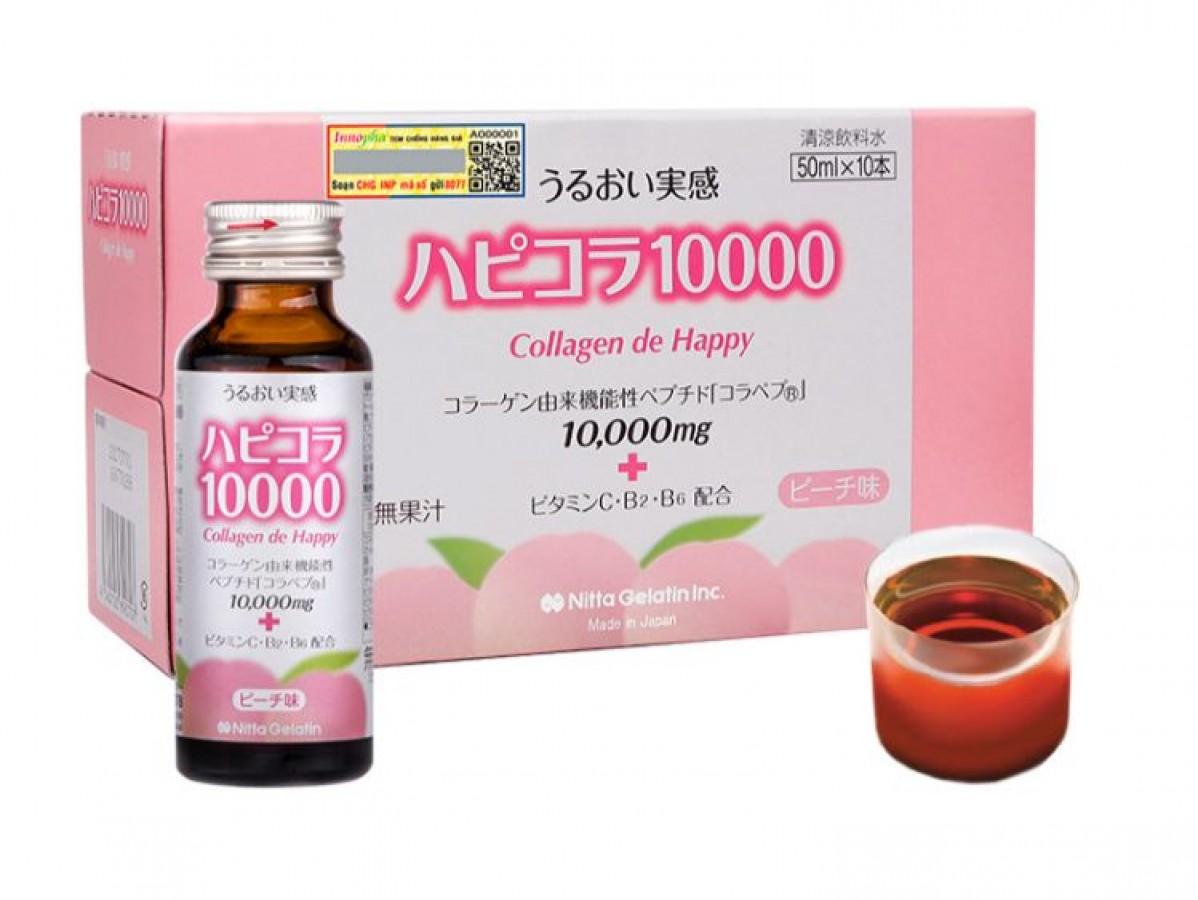 Nước Uống Collagen De Happy 10000mg Của Nhật