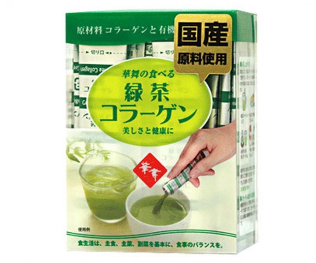 Collagen Hanamai Trà Xanh Của Nhật