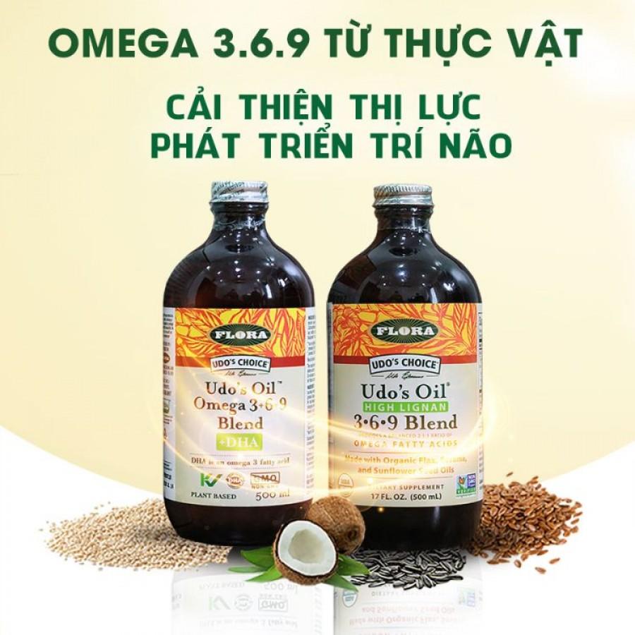 Flora Udo's Oil Omega 3 6 9 Blend 500ml