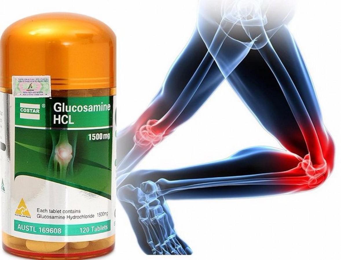 Viên Uống Bổ Xương Khớp Costar Glucosamine HCL 1500mg