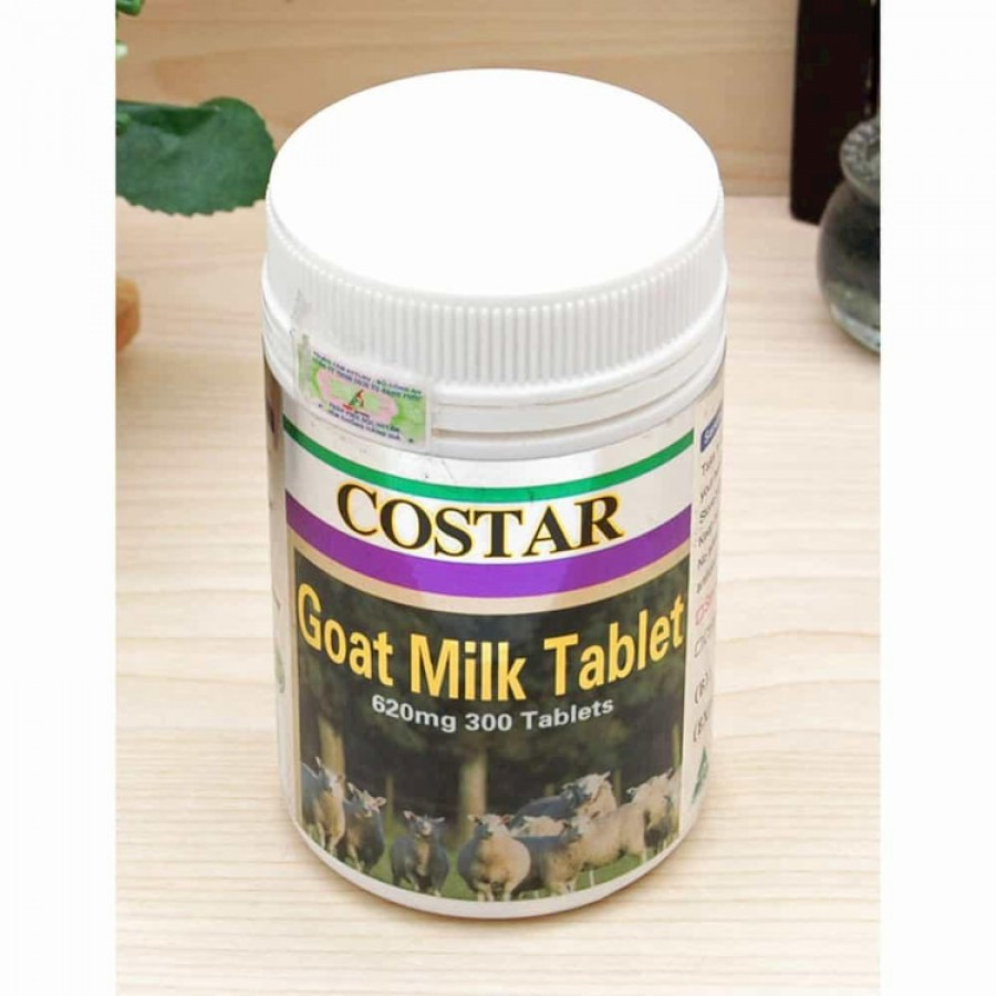 Sữa Dê Costar Goat Milk Tablet 620mg
