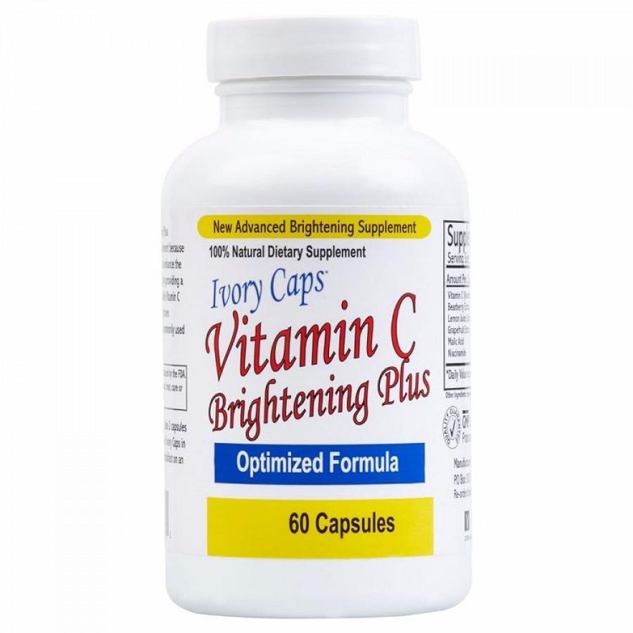 Ivory Caps Vitamin C Hỗ Trợ Làm Trắng Da, Ngừa Nám