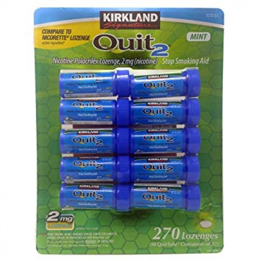 Kẹo Cai Thuốc Lá Kirkland Gum Quit 2