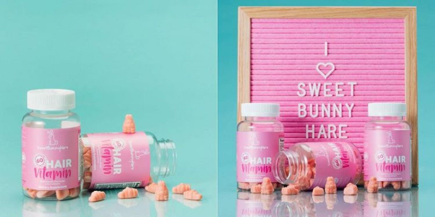 Kẹo Dẻo Hỗ Trợ Mọc Tóc Hair Vitamin Sweet Bunny Vegan