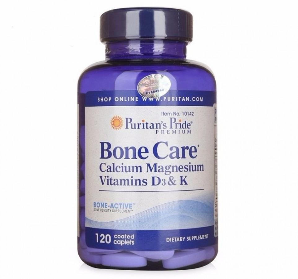 Puritan's Pride Bone Care Hỗ Trợ Giảm Đau Nhức Xương Khớp