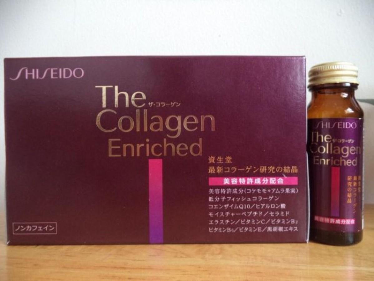 Shiseido Enriched Collagen Nhật Bản Dạng Nước