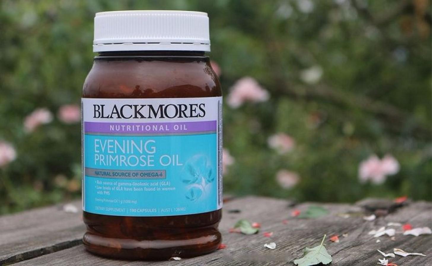 Viên Uống Blackmores Evening Primrose Oil Của Úc, 190 Viên