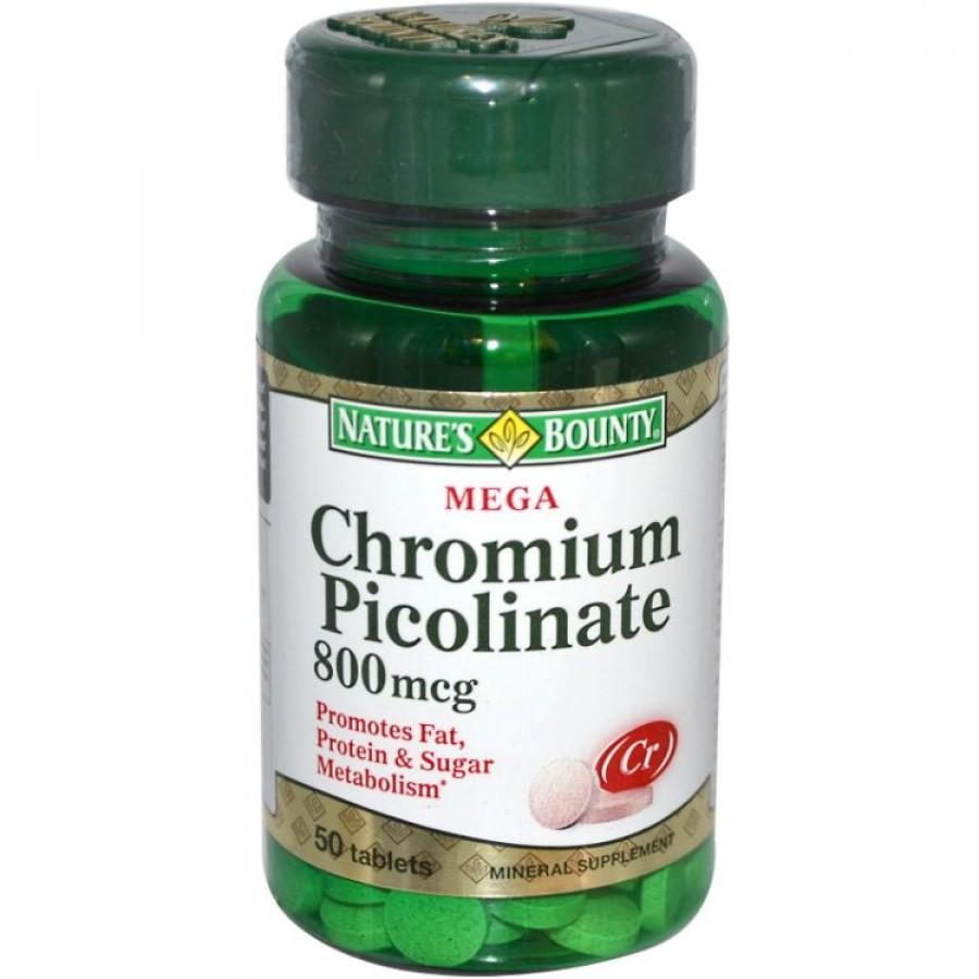 Viên Uống Chromium Picolinate 800mcg Của Mỹ