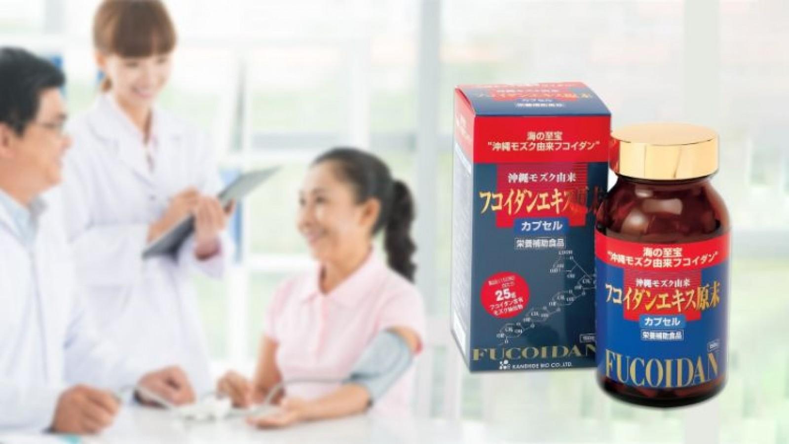 Viên Uống Fucoidan Kanehide Bio Nhật Bản