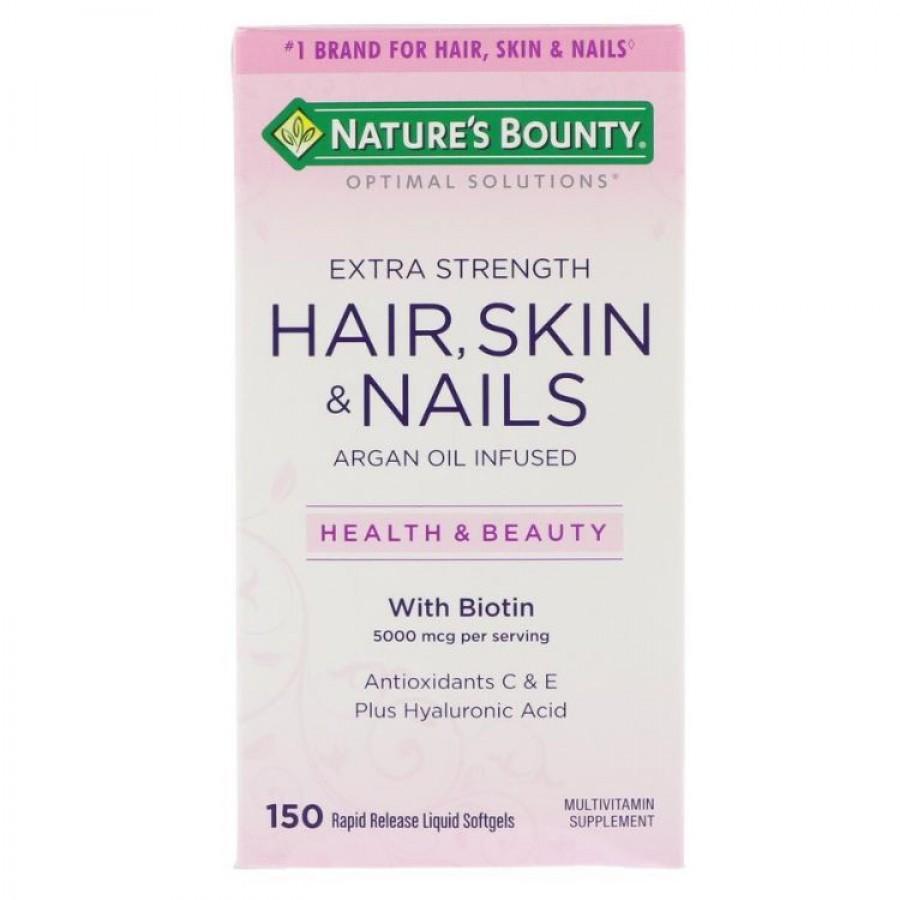 Viên Uống Hair Skin Nails Nature's Bounty