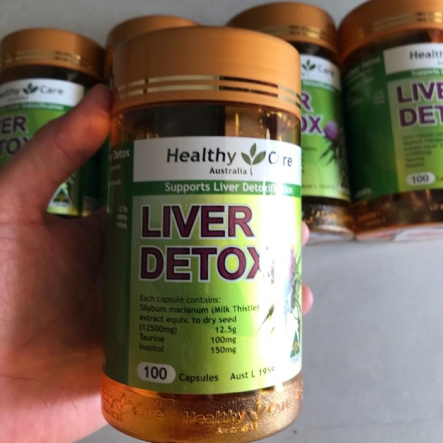Viên Uống Thải Độc Gan Healthy Care Liver Detox Của Úc