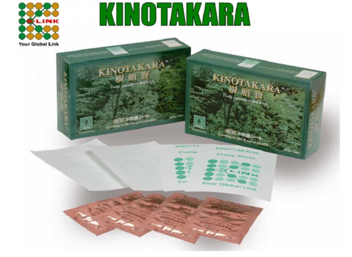 Miếng Dán Thải Độc Tố Kinotakara Của Nhật