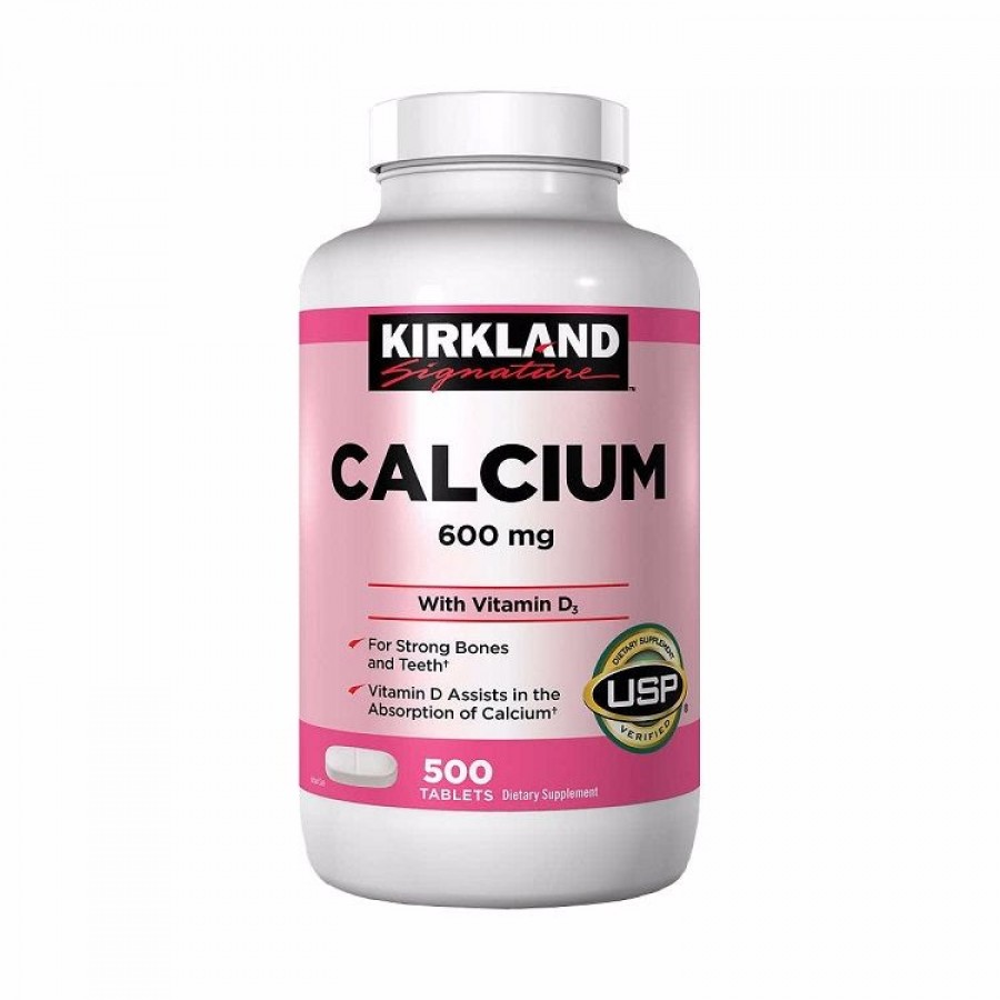 Viên Uống Bổ Sung Calcium + D3 Của Kirkland