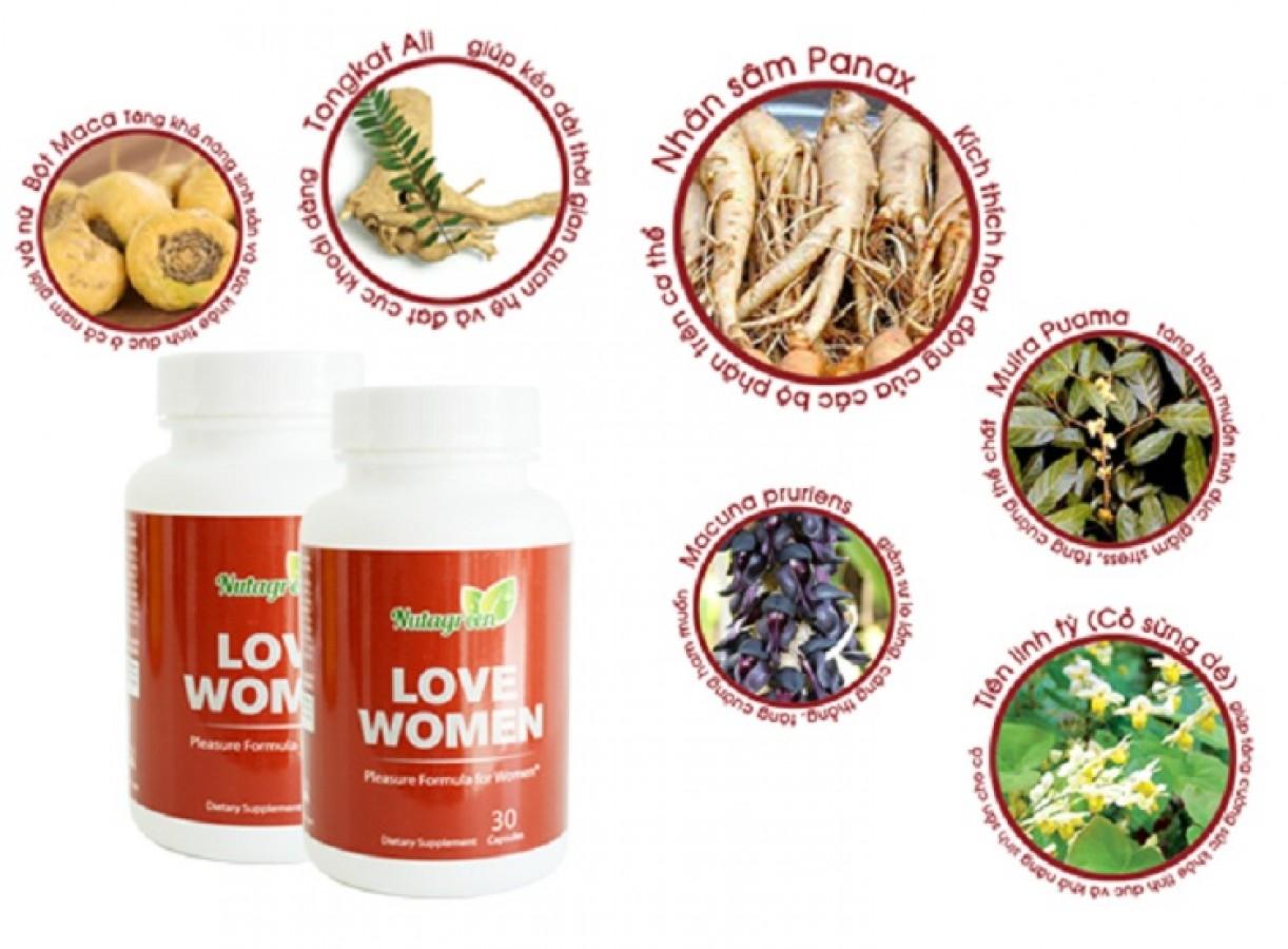 Viên Uống Nutagreen Love Women Của Mỹ