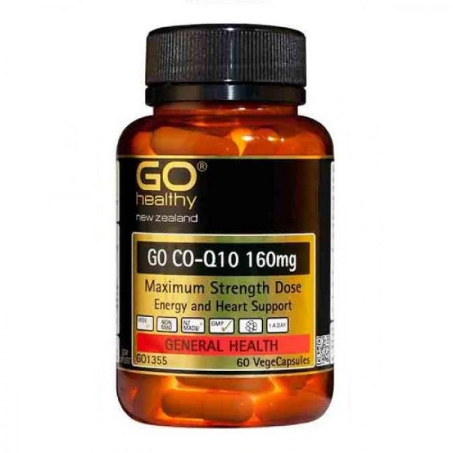 Viên Uống Bổ Tim Mạch Go Healthy CO-Q10 160 Mg