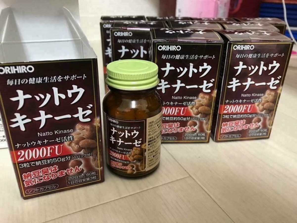 Viên Uống Nattokinase 2000FU Orihiro