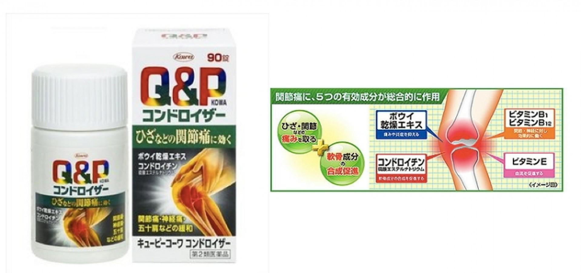Viên Uống Q&P Kowa Của Nhật
