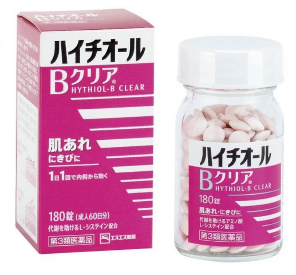 Viên Uống Hỗ Trợ Cải Thiện Mụn Hythiol-B Nhật Bản