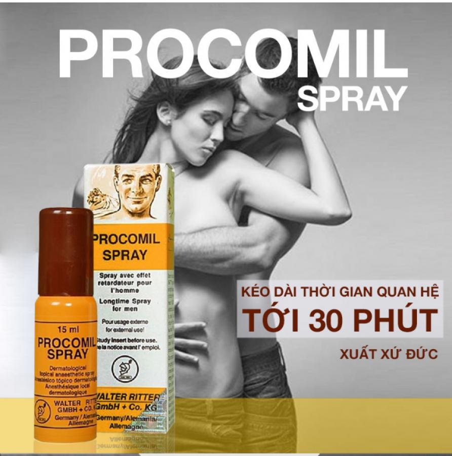 Chai Xịt Procomil Spray 15ml Của Đức