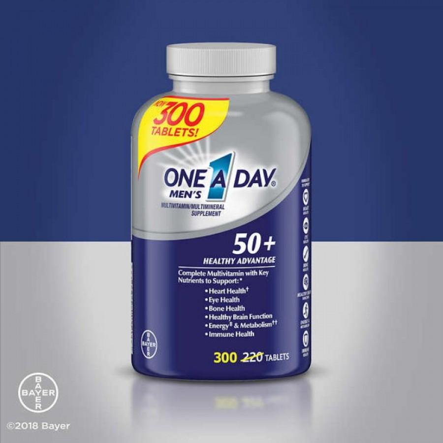Vitamin Cho Nam Giới Trung Niên One A Day Men's 50+