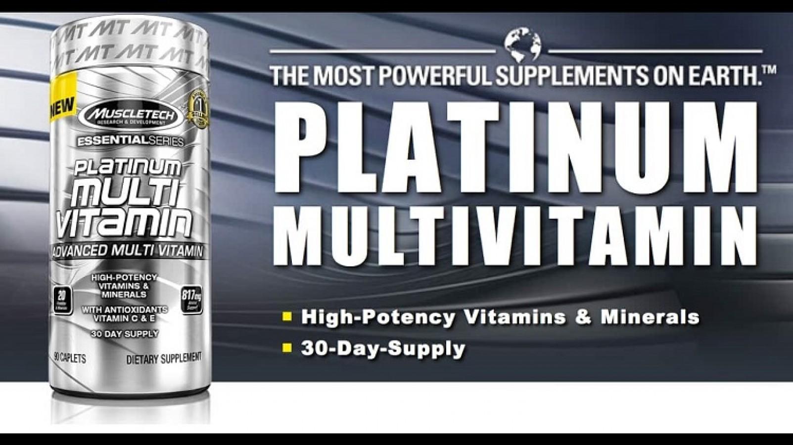 Vitamin Tổng Hợp Muscletech Platinum Multivitamin 90 Viên